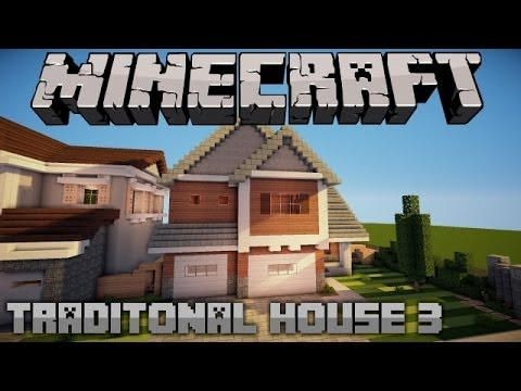 Traditional suburban house 2 minecraft project for Show pool post expert ng best forum