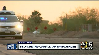 How safe are driver-less cars in emergency situations?