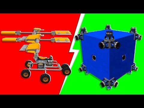 Noob VS. Pro Libby Machine Challenge - Scrap Mechanic   JeromeACE