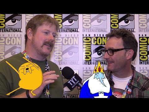 Adventure Time! With John DiMaggio (Jake) and Tom Kenny (Ice King)