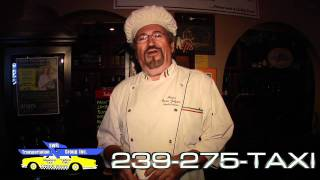 Take a Cab Home Fort Myers 239-275-TAXI Blue Bird and Yellow Cab