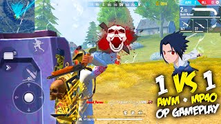 AWM + Mp40 Fantastic 14 Kills Op Gameplay | Amazing Awm Sniping With @P.K. GAMERS - Garena Free Fire