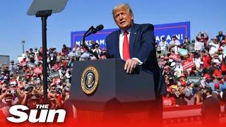 Live: Trump campaign rally in Goodyear, Arizona