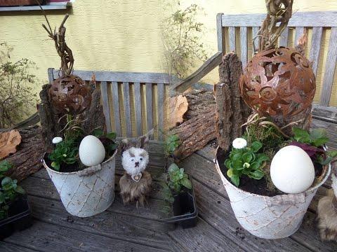 BLUMEN Werkstatt; außergewöhnliche Shabby chic Blumen DEKO ,SELBER MACHEN How to