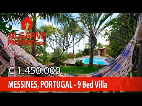 Silves - Quinta com 9 quartos - Retiro no campo c/ jardim tropical
