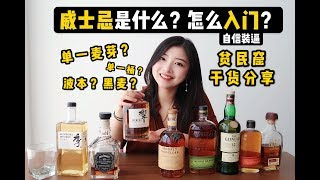 威士忌是什么?怎么入门?分清单一麦芽波本黑麦,从这个视频开始!| A Beginner's Guide To Whisky / Whiskey | Sophia1.5