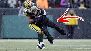 Top 10 Times NFL Football Fans Ran Onto The Field