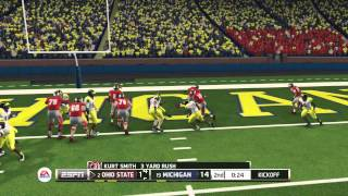 NCAA Football 2014 Demo - Ohio State Buckeyes vs Michigan Wolverines