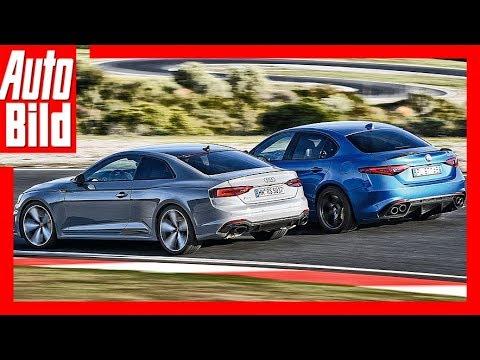 Alfa Romeo Giulia QV vs Audi RS 5 (2018) Vergleich/Test/Review