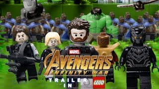 LEGO Avengers Infinity War Trailer