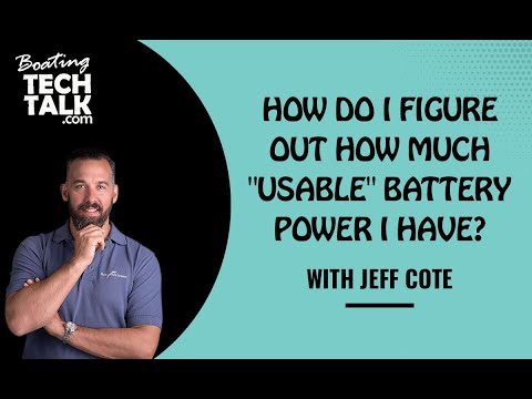 "Ask PYS - How Do I Figure Out How Much ""Usable"" Battery Power I Have?"