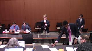 2018 Policy Debate Finals at the Barkley Forum High School Debate Tournament