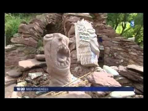 Reportage de France 3 Midi-Pyrénées - Le Musée des Arts Buissonniers et la Construction Insolite,