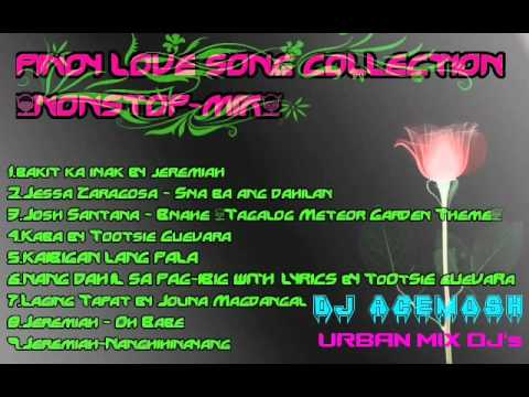 PINOY LOVE SONG COLLECTION NONSTOP MIX DJ ACEMOSH [URBAN MIX DJ's