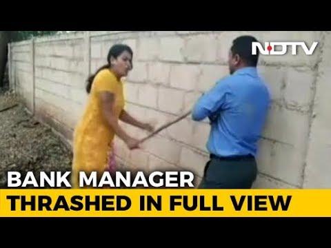 On Video, Karnataka Woman Beats Bank Officer Over 'Sex-For-Loan' Demand