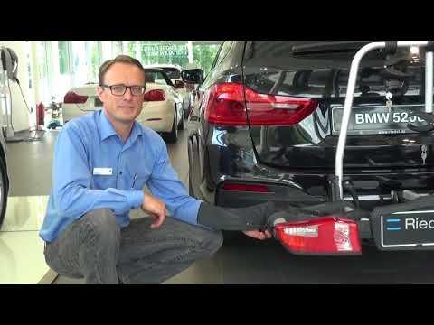 Fahrradträger BMW auf Anhängerkupplung montieren
