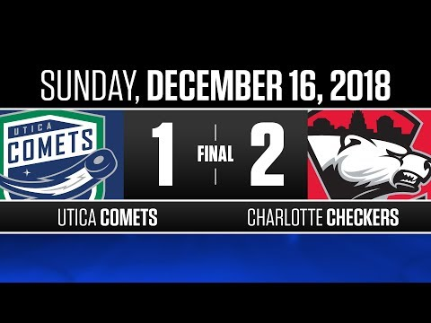 Comets vs. Checkers | Dec. 16, 2018