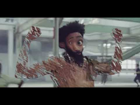 This Is America But I'm Whispering The Lyrics (fixed thumbnail)