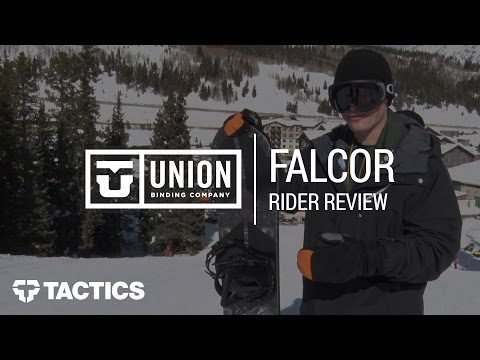 Union Falcor 2018 Snowboard Binding Rider Review – Tactics.com
