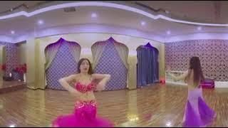 VR 360 video Asian Dansöz Kızlar Sexy Sanal Gerçeklik