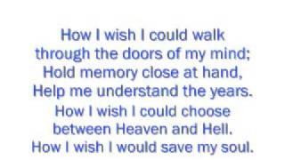 James Blunt - Tears And Rain Lyrics Video