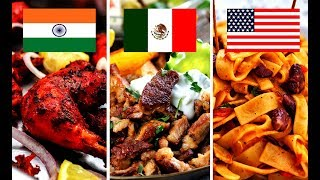 Top 15 Best Countries in the World for food 2019