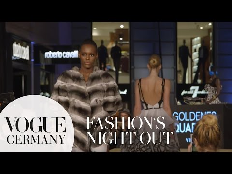 Throwback: VOGUE Fashion's Night Out 2015