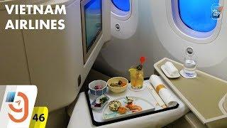[M9] #46: Hạng thương gia Vietnam Airlines từ Osaka về TP.HCM   Yêu Máy Bay
