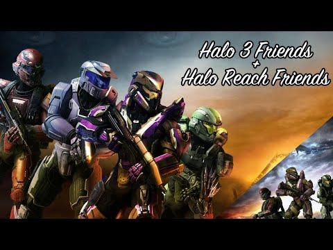 Halo 3/Reach Friends (Halo 3 Campaign/Halo Reach MCC Customs)