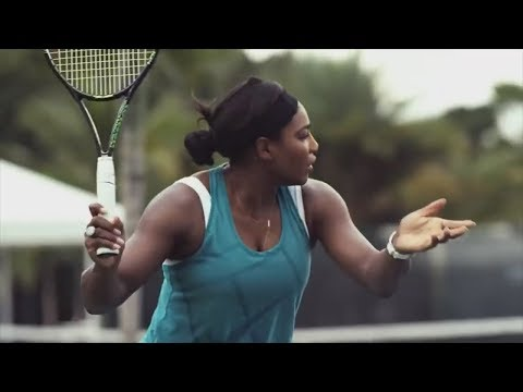 Serena Williams and Average Andy Face Off
