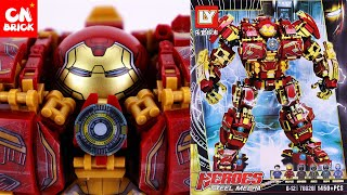 LEGO HULKBUSTER 1450 PCS.  (SPEED BUILD IN 10 MINUTE ) LY76026 Unofficial lego