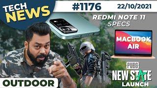 Redmi Note 11 Full Specs, PUBG New State Launch,MacBook Air 2022 Details,iPhone SE 3 Design-#TTN1176