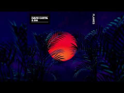 David Guetta, Sia - Flames (Official Instrumental)