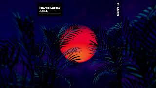 David Guetta, Sia - Flames (Official Instrumental)