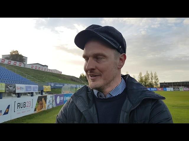 Óli Stefán: Mjög ánægður með hópinn