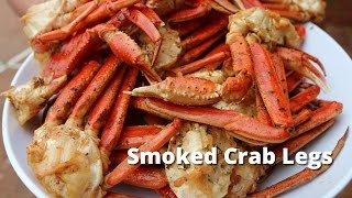 Smoked Crab Legs Recipe | How To Smoke Snow Crab Legs On Ole Hickory Pit