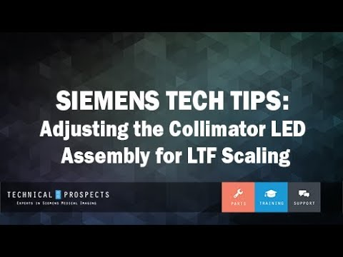 Adjusting the Collimator LED Assembly for LTF Scaling