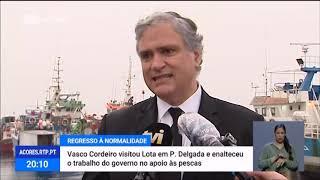 22/05: Vasco Cordeiro destaca apoio às pescas em época de COVID-19