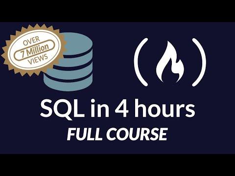SQL Tutorial - Full Database Course for Beginners - YouTube