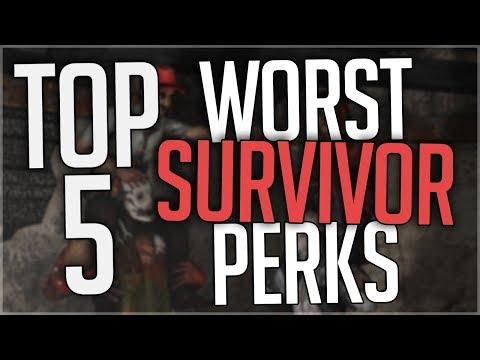 Dead by Daylight - Survivor Perk Tier List (Sept  2018