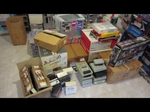 atari 8 bit hardware collection