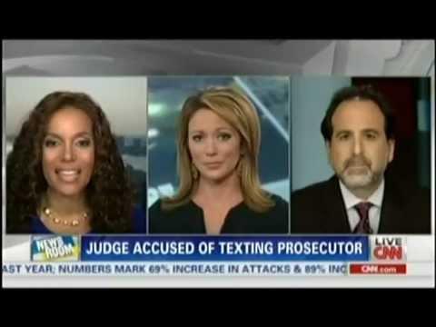 Findlin Law Firm CNN Newsroom Brooke Baldwin Judge Texting Prosecuter