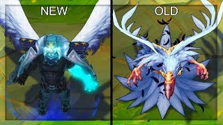 Download Video All Swain Skins NEW and OLD Texture Comparison Rework 2018 (League of Legends) MP3 3GP MP4