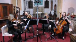Somewhere only we know : Keane-Capriccio Quartet at Birtsmorton Church, Worcestershire.