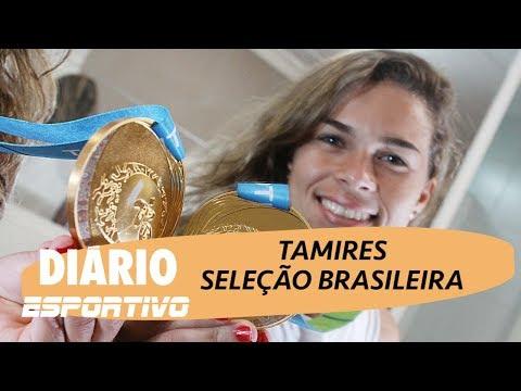 Tamires fala da Copa do Mundo Feminina no Diário Esportivo