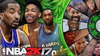 WHEEL OF NBA STONERS! PLAYERS WHO SMOKE POT!