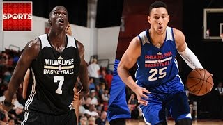 Ben Simmons and Thon Maker Are Showcasing Talent At NBA Summer League