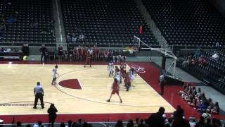 Liberty Redhawks Girls Basketball Regional Finals vs Mansfield Summit  02 27 2016 v2
