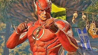 INJUSTICE 2 The Flash Gameplay Trailer (2017) Justice League