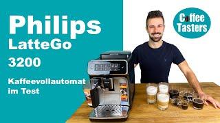 Philips LatteGo Series 3200 Vollautomat ++ [Test & Vorführung aller Getränke]